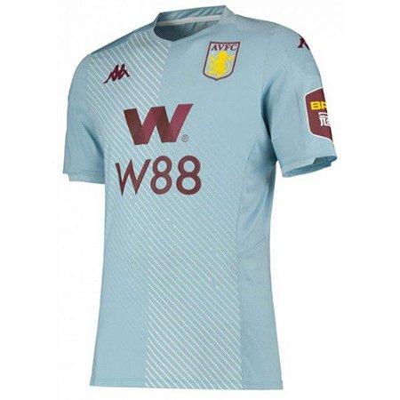 Camiseta Aston Vila 19/20 - Masculina Frete Grátis
