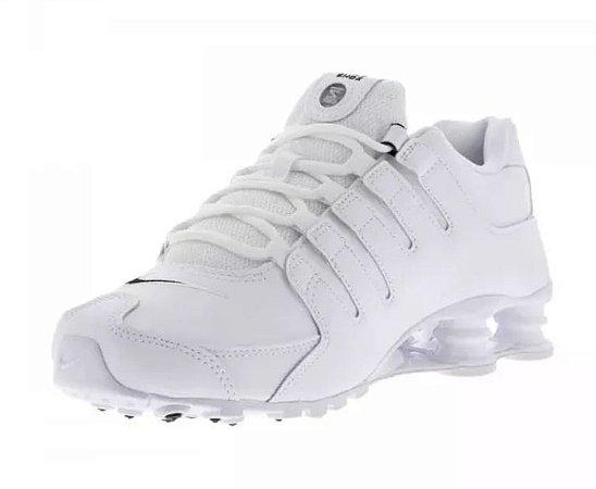 Tênis Nike Shox Nz Branco Frete Grátis