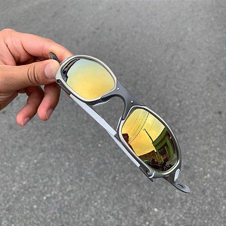 Óculos Oakley Juliet Lente Gold Armação Tio 2 Frete Grátis