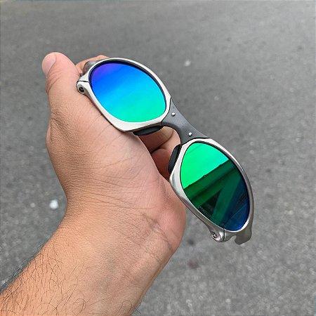 Óculos Oakley Penny Lente Verde brilho Reto Armação Tio 2 Frete Grátis