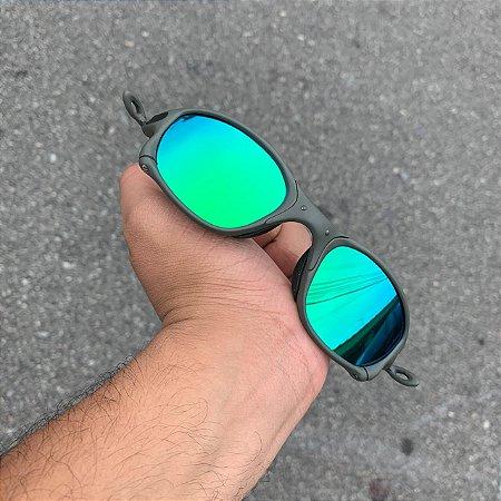 Oculos Oakley Double-X Lente Verde Brilho Reto Armção X-Metal Frete Grátis