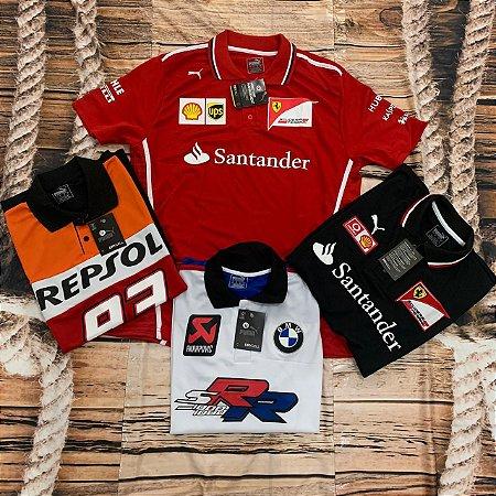 Lote Com 10 Camisetas Diversas Marcas Frete Grátis 01 - ATACADO -