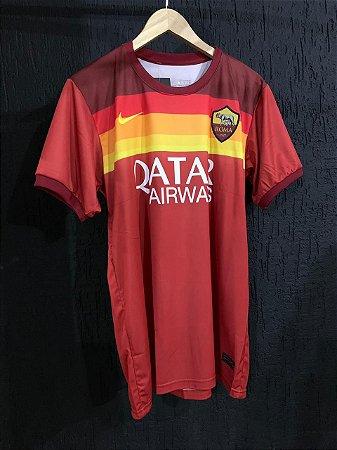 Camiseta Roma Vinho 2021 Com Frete Grátis