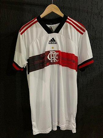 Camiseta Flamengo Branca 2021 Com Frete Grátis