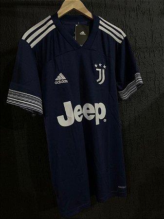 Camiseta Juventus Azul 2021 Com Frete Grátis
