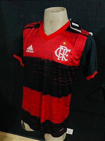 Camiseta Flamengo Listrada 2021 Com Frete Grátis