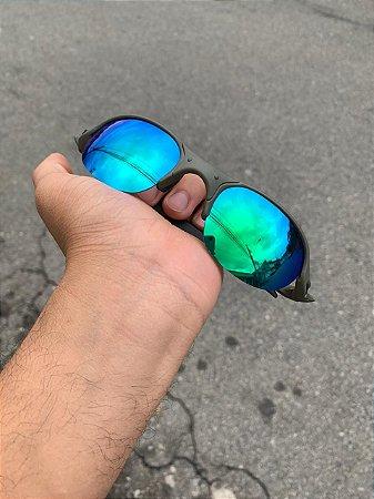 Óculos Oakley Romeo 2 Lente Verde Frete Grátis