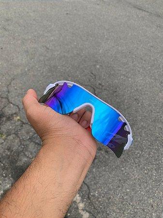 Óculos Oakley Radar Lente Azul Bebe Frete Grátis