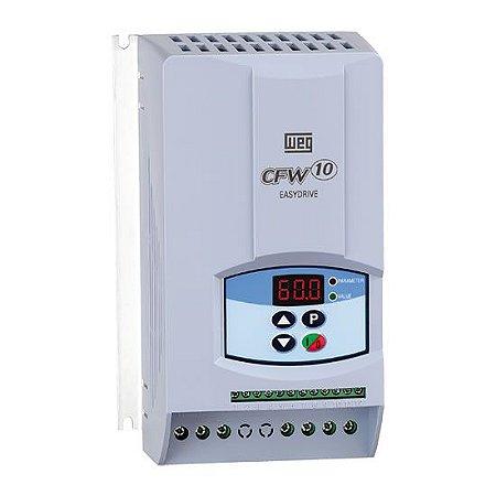 Inversor WEG CFW100073S2024PSZ Rede/line 200-240V ac 1~16A 50-60hz