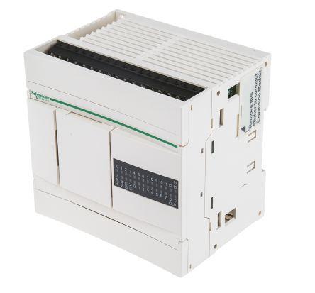 Módulo Lógico Schneider Electric Twido, 100 → 240 V ac, 14 x Entrada, 10 x Saída Com Display / TWDLCAA24DRF