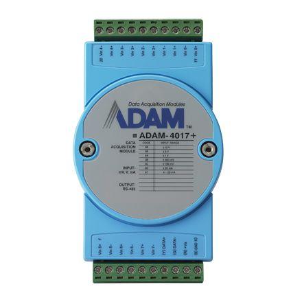 ADAM-4017 Conversor analógico 8 entradas digitais resolução de 16 bits