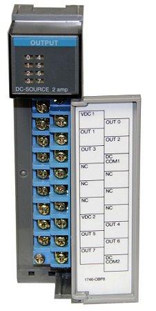 Módulo de saída analógico slc 500 1746-obp8 - 7m2ea8ku
