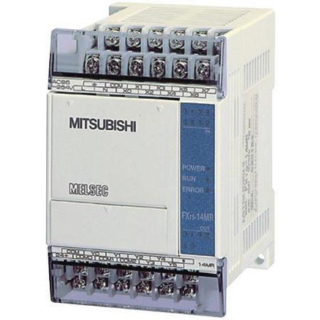 Mitsubishi FX1S-14MR-DS Série FX 24vdc/240vac 2a