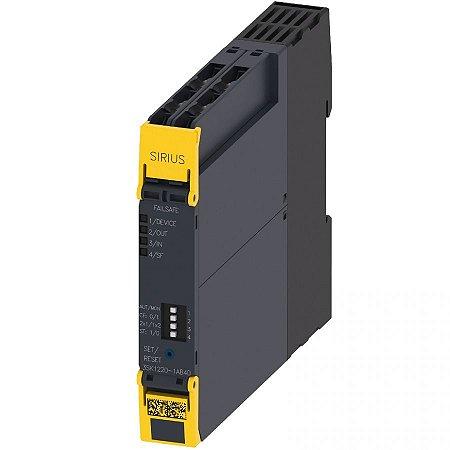 Rele De Seguranca Sirius - 3sk1220-1ab40 - Siemens - Novo