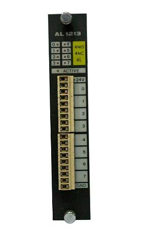 Módulo de 8 saídas digitais,4 NO, 4NC - AL1213