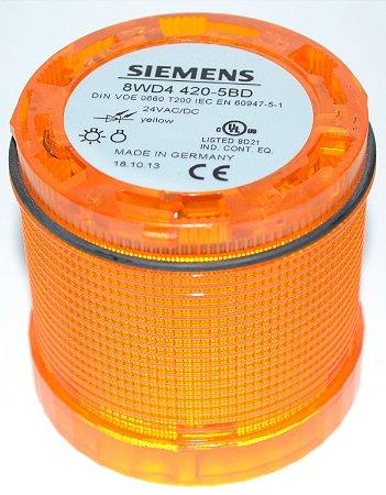 Sinalizador de Coluna Intermitente C/Led 24V AM - 8WD4420-5BD