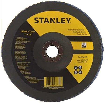 "Disco Flap Inox Stanley 7"""