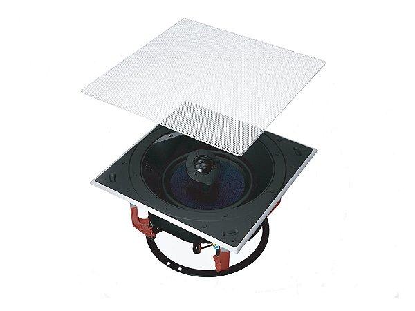 Caixa de som de embutir B&W - CCM 684 - Unidade - Tela quadrada opcional