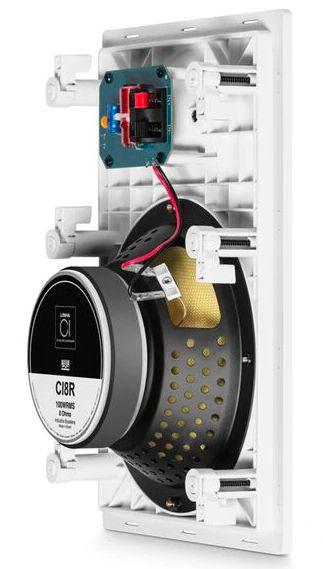 Caixa de som de embutir JBL CI8R 100W - UNIDADE