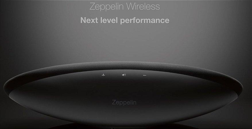 Bowers Wilkins Zeppelin Wireless - Sistema de som sem fio com Bluetooth e Airplay com DAC