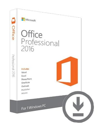 MICROSOFT OFFICE PROFESSIONAL 2016 ESD – 32 / 64 BITS – (DOWNLOAD) + NOTA FISCAL