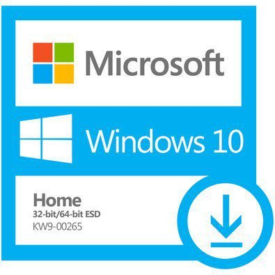 MICROSOFT WINDOWS 10 HOME ESD – 32 / 64 BITS – (DOWNLOAD) + NOTA FISCAL