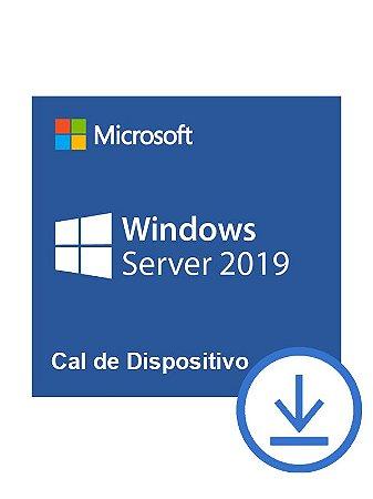 PACOTE DE 50 CALS DE DISPOSITIVO PARA WINDOWS SERVER 2019