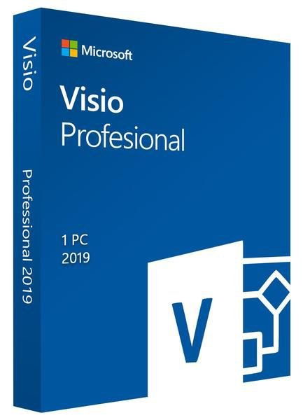 MICROSOFT VISIO PROFESSIONAL 2019 – (DOWNLOAD) + NOTA FISCAL
