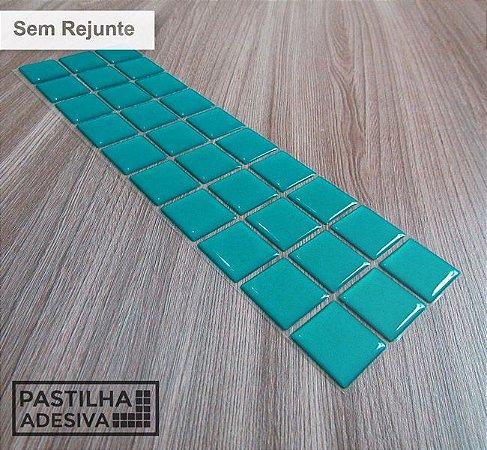 Faixa Pastilha Adesiva Resinada 27x8 cm - AT08 - Verde