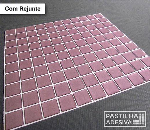 Placa Pastilha Adesiva Resinada 30x28,5 cm - AT045