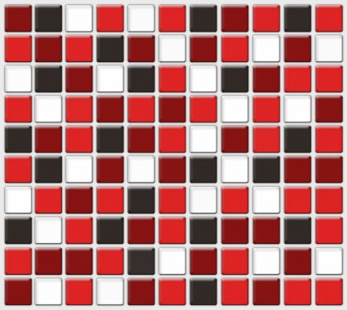 Placa Pastilha Adesiva Resinada 30x28,5 cm - AT050