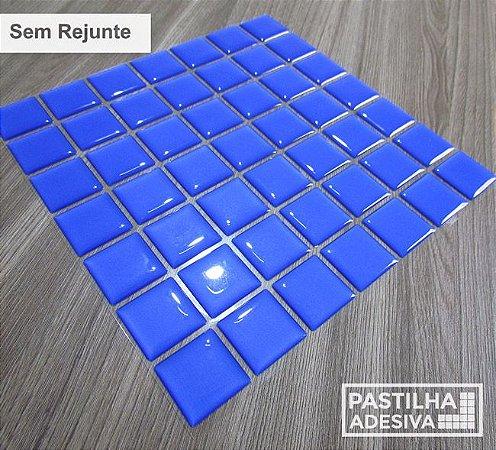 Placa Pastilha Adesiva Resinada 18x18 cm - AT067 - Azul