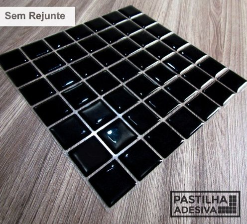 Placa Pastilha Adesiva Resinada 18x18 cm - AT068