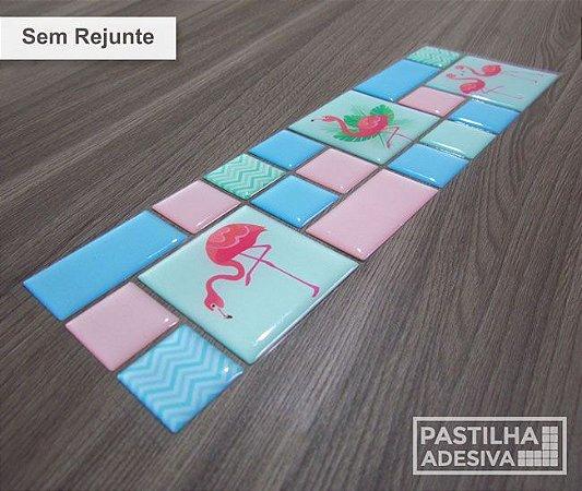 Faixa Mosaico Adesiva Resinada 28x9 cm - AT126