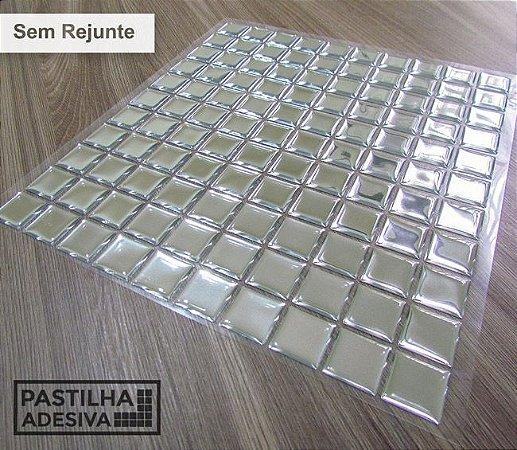 Placa Pastilha Adesiva Resinada 30x28,5 cm - AT171