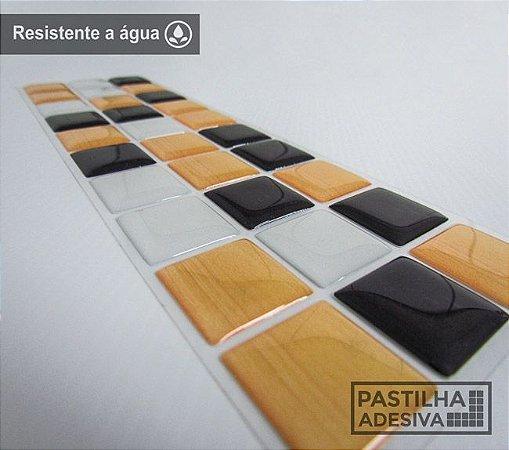 Faixa Pastilha Adesiva Resinada 28x9 cm - AT187