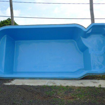 Piscina De Fibra Condor 6 26 X 2 70 X 1 40 15 000 Litros Azul