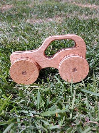 Carrinho de madeira - Jeep