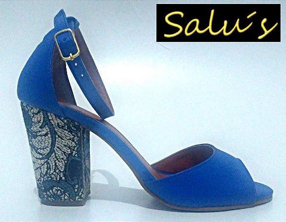 a483b76c39 sandalia zul - Loja Salu´s Revenda de Sapatos femininos no Atacado