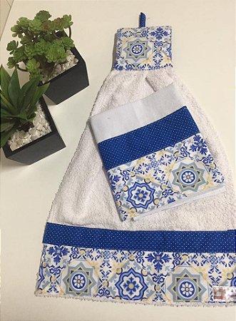 Kit Pano de Prato + Bate Mão