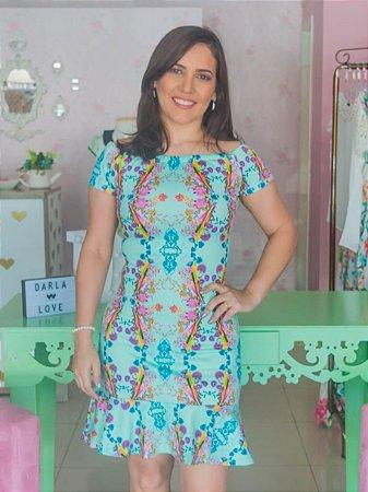 Vestido Aqcua flower
