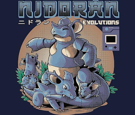 Enjoystick Pokémon - Nidoran Fêmea Evolutions