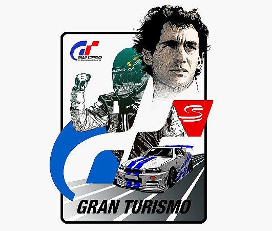 Enjoystick Gran Turismo Ayrton Senna