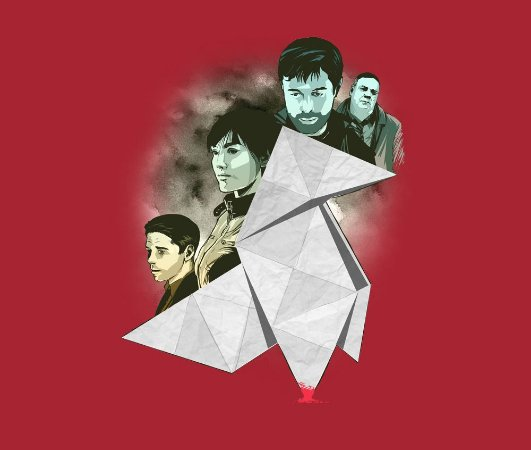 Enjoystick Heavy Rain Characters Origami Composition