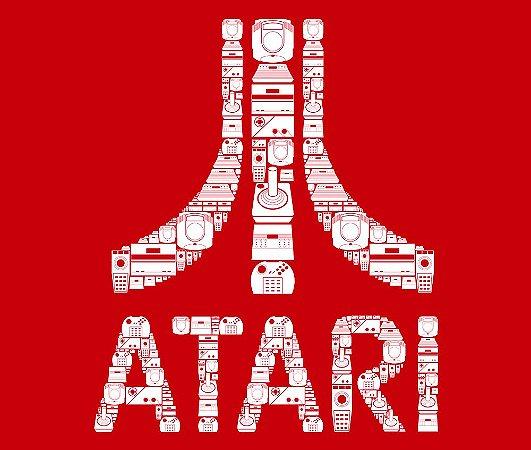 Enjoystick Atari Royale Composition White