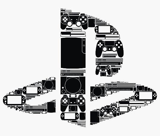 Enjoystick Playstation Royale Black Composition