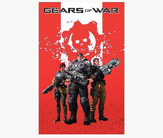 Enjoystick Gears of War Red Composition