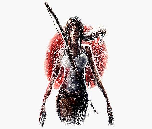Enjoystick Tomb Raider - Lara Croft in Rain