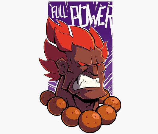 Enjoystick Street Fighter Akuma Full Power