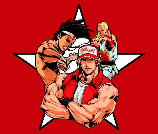 Enjoystick KOF Team Fatal Fury